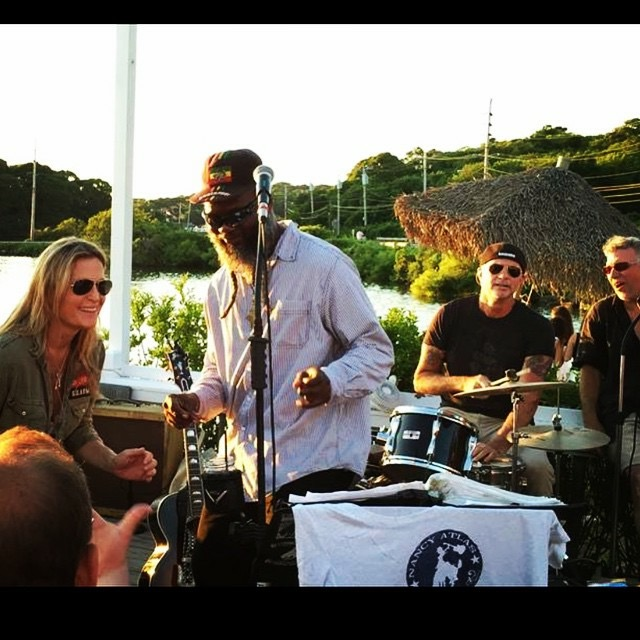 Surf Lodge with Winston Irie and Chad sitting in. Let the good times roll. X