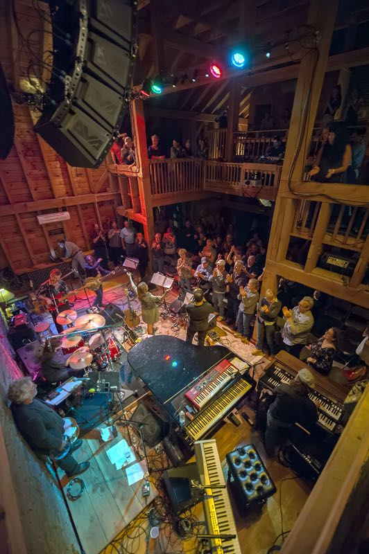 "Levon Helms Barn Oct 1st, 2016. Barbara OBrien, long time house manager, gave us one of our highest compliments saying, ""This band reminded me of Levon's Ramble so much. He would have absolutely loved this show. We can't wait to do it again."""