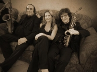 Uptown Horns Arno Hecht and Cripsin Coie with Nancy